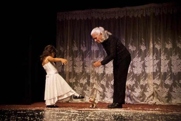 Tarareos para Isabella en el Teatro Nacional de Guiñol. Foto: Iván Soca.