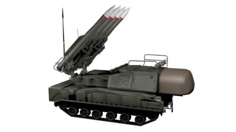 Sistema Buk de misiles tierra-aire