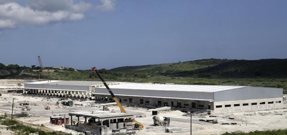 Zona de actividades logísticas. Foto: Ismael Francisco/Cubadebate.