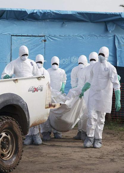 Fármacos experimentales contra el ébola a debate convocado por OMS