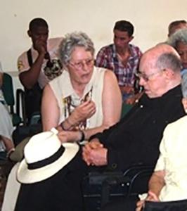 Conversado con Monseñor Carlos Manuel de Céspedes.