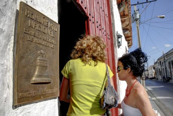 En el año 2005 fue declarado Monumento Nacional. Actualmente se restaura para devolver su imagen original. En el empeño participan historiadores, arquitectos y constructores comprometidos con la historia y orgullo de los holguineros. Foto: AIN FOTO/Juan Pablo CARRERAS