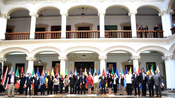 Foto de Familia de los Ministros de Cultura de la CELAC. Foto: Noticias 24