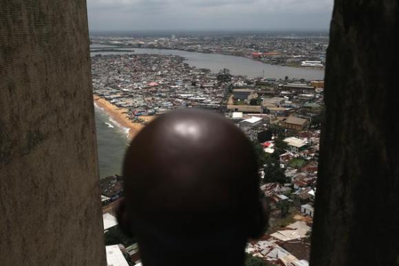 Centro de aislamiento del ébola en Liberia. 10