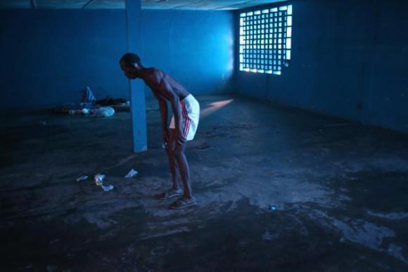 Centro de aislamiento del ébola en Liberia. 2