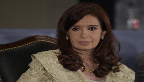 Presidenta argentina, Cristina Fernández.