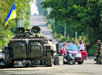 Ejército ucraniano. Foto: EFE.