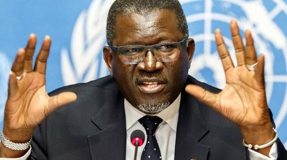 El nuevo secretario general de la Federación Internacional de la Cruz Roja y la Media Luna Roja el senegalés Elhadj As Sy