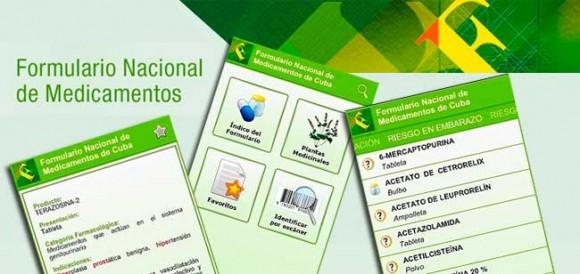 Presentan primera aplicación cubana sobre salud.