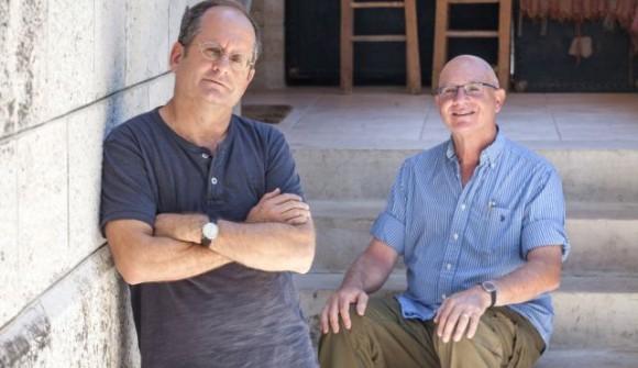 Idan Yaron (derecha) y Yoram. Foto: