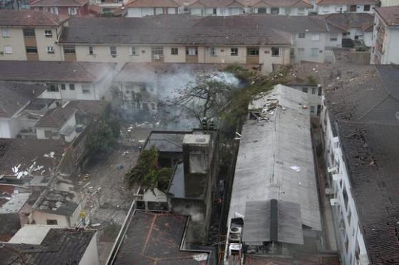 Imágenes del accidente de la avioneta en la que viajaba el candidato presidencial brasileño Eduardo Campos.