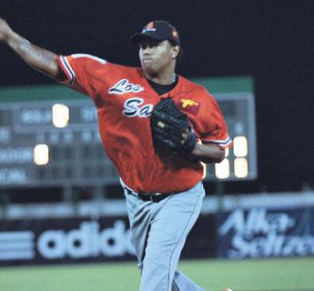 Javier Ortiz, oriundo de Cartagena, perteneció alguna vez a los Yankees de Nueva York, aunque nunca debutó con el equipo grande. Foto: Tomada de www.beisbolvenezolano.net