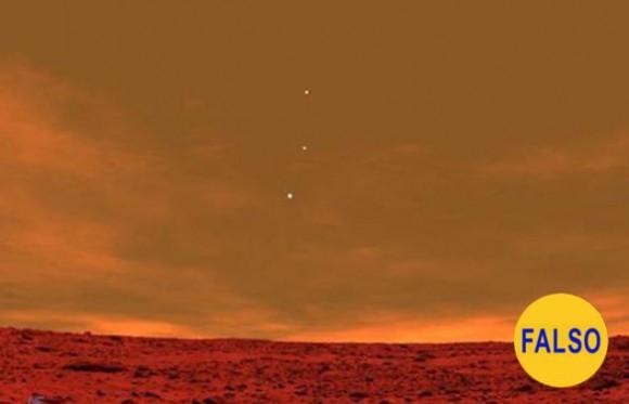 La Tierra, Júpiter y Venus, vistos desde Marte