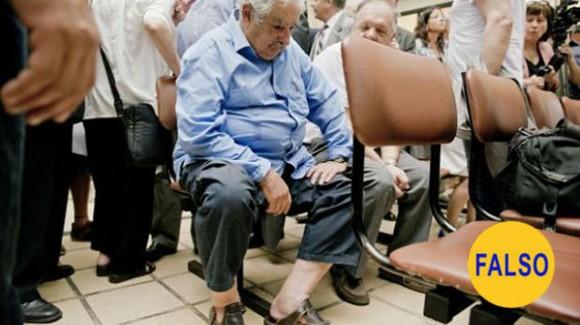 La espera del presidente de Uruguay en el hospital