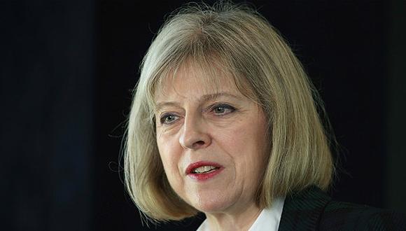 Theresa May, Ministra del Interior de Reino Unido.