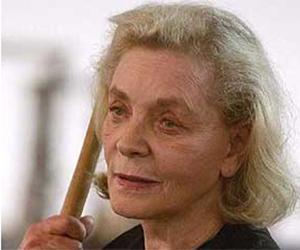 La actriz en la película Dogville.