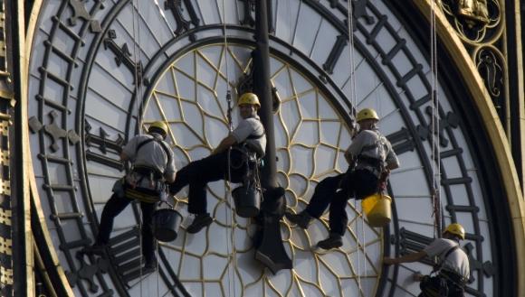 Limpieza del Big Ben