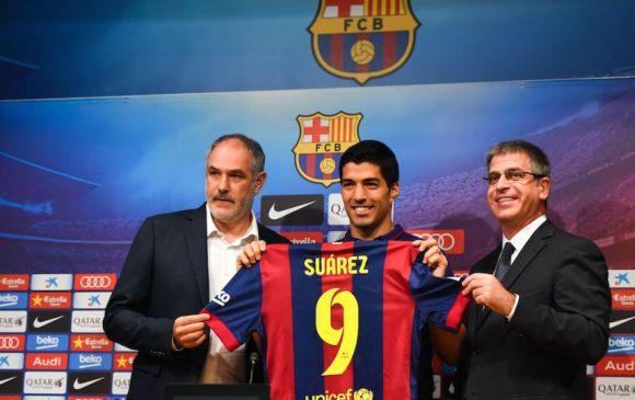 Luis Suárez presentación 2