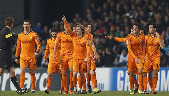 Modric fue uno de los pilares en los triunfos merengues de la pasada temporada. Foto: EFE.