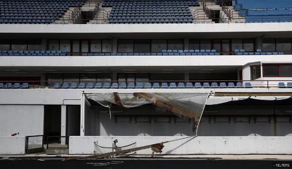 Ruinas de las instalaciones de Atenas 2004 10
