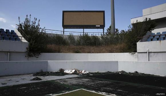Ruinas de las instalaciones de Atenas 2004 11