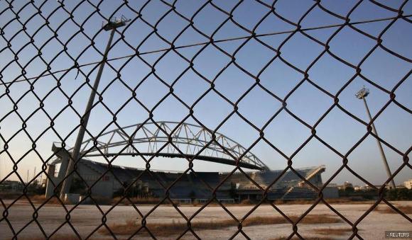 Ruinas de las instalaciones de Atenas 2004 2