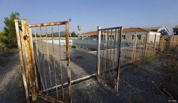 Ruinas de las instalaciones de Atenas 2004 5