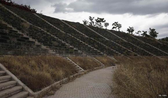 Ruinas de las instalaciones de Atenas 2004 8