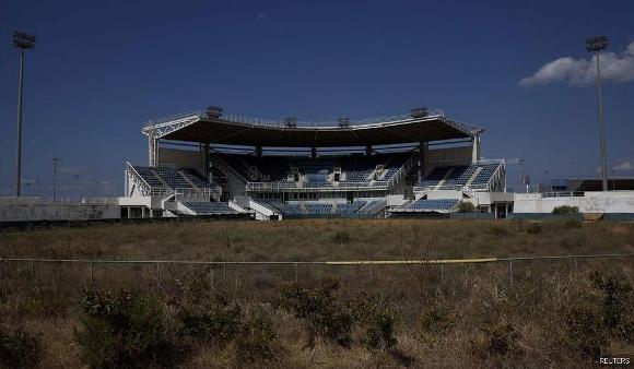 Ruinas de las instalaciones de Atenas 2004 9