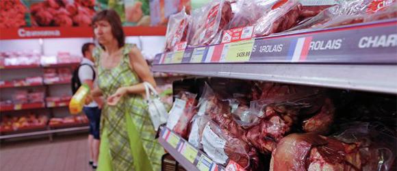 Rusia sanciones alimentos