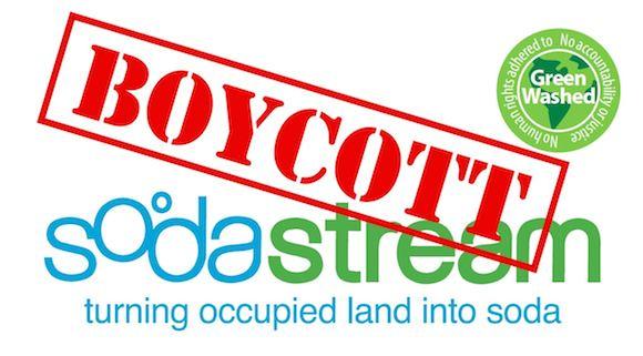 SodaStream boicot israel