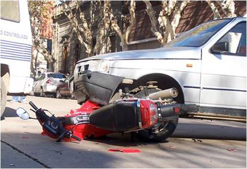 Accidente de tránsito. Foto tomada de Juventud Rebelde