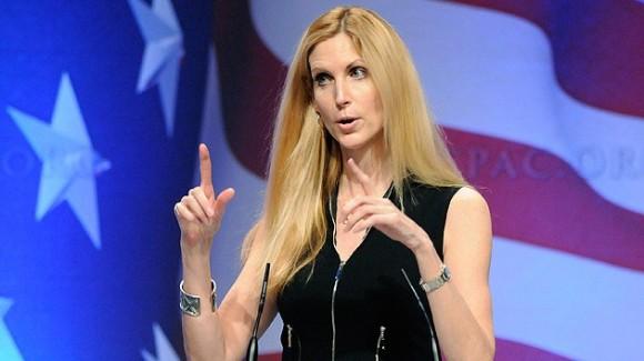 Ann Coulter, escritora derechista de EEUU. Foto:  Fox News.