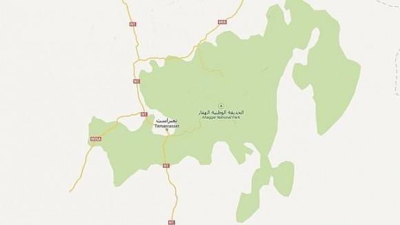 Mapa de la ciudad de la que despegó el avión. Google Maps