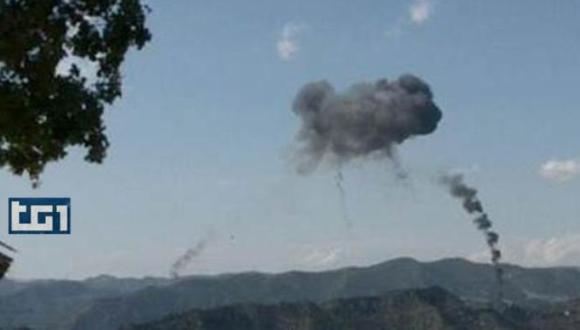 aviones italianos de guerra chocan en el aire