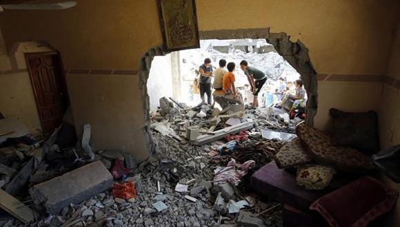 Con estas muertes, asciende a 2.090 el número de palestinos que han perdido la vida en ataques israelíes durante la actual ofensiva, la mayor parte de ellos civiles.