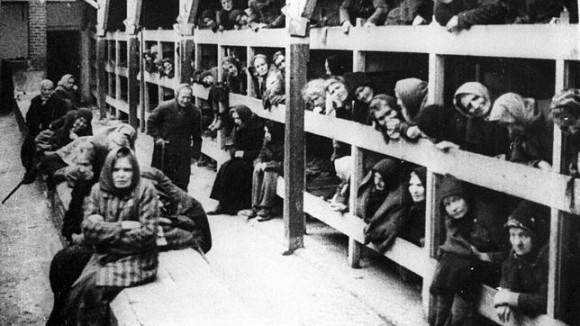 Auschwitz, durante el holocausto nazi.