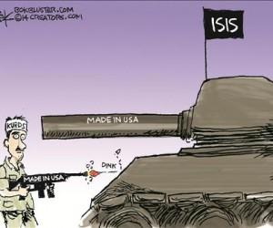 caricatura de world tribune