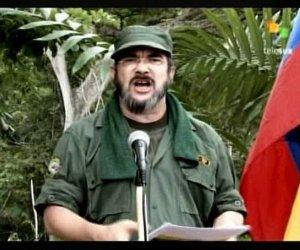 Timoleón Jiménez, comandante del Estado Mayor Central de las FARC-EP