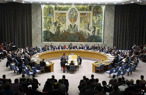El Consejo de Seguridad, en una de sus sesiones. Foto: EFE (Archivo).