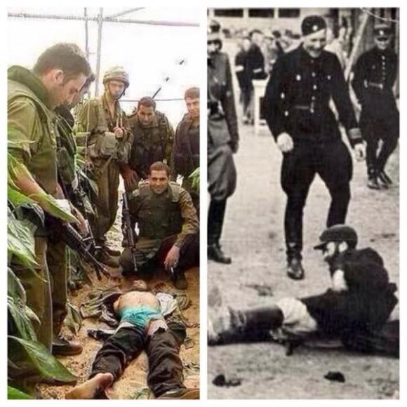 Alemania 1940. Gaza 2014. Dos fotos juntas se comprenden mejor.