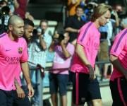 entrenamientos del barcelona