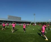 entrenamientos del barcelona 2