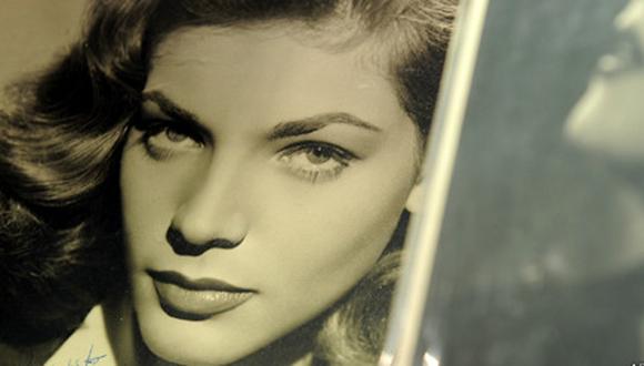 Lauren Bacall. Foto: AFP.