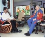 Fidel Castro y Nicolás Maduro. Foto: Archivo de Cubadebate / Estudios Revolución