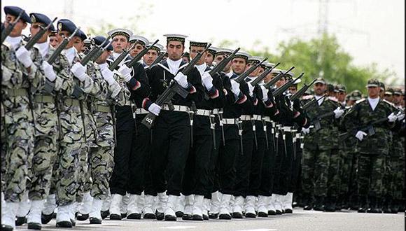 fuerzas militares de Irán
