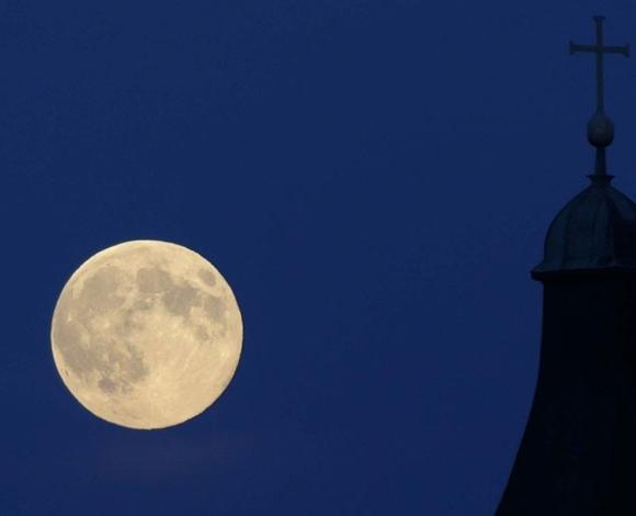 La superluna del año: Luna de perigeo.