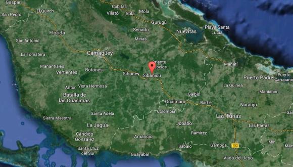 mapa sibanicú