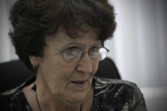María Isela Lantero. Foto: René Pérez Massola/ Trabajadores.