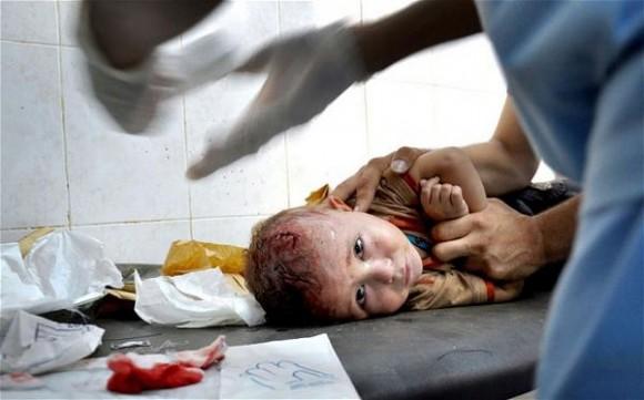Nada es más inmoral que atacar niños cuando duermen: ONU.